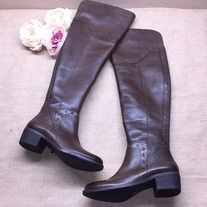 Vince Camuto Brown Over the Knee Boots 7M